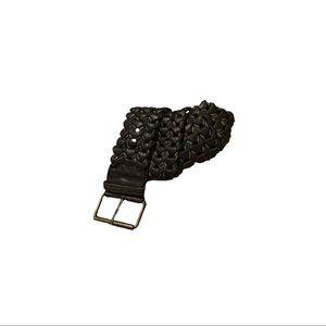 💙Genuine leather braided belt 2/$20